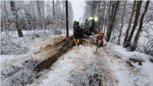 Savon Suuntaporaus Oy - Suuntaporaukset pehmeään maaperään talvella