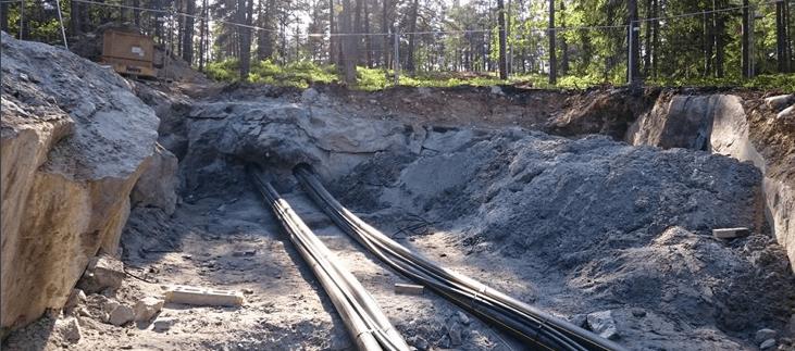 Savon Suuntaporaus - vasaraporaukset ohjatulla menetelmällä kallioon